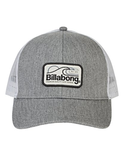 1 Walled Trucker Hat Grey MAHWVBWA Billabong