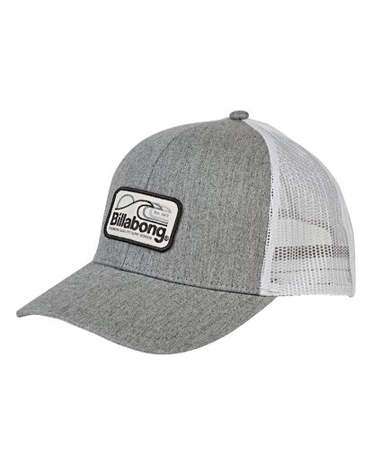 0 Walled Trucker Hat Grey MAHWVBWA Billabong