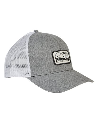 2 Walled Trucker Hat Grey MAHWVBWA Billabong