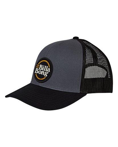 0 Walled Trucker Hat Grey MAHWVBWA Billabong