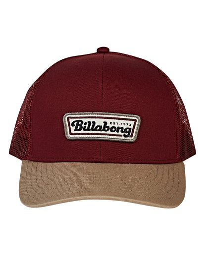 1 Walled Trucker Hat Red MAHWVBWA Billabong