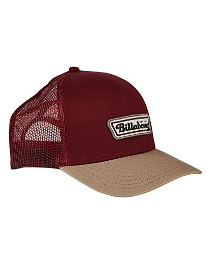 2 Walled Trucker Hat Red MAHWVBWA Billabong