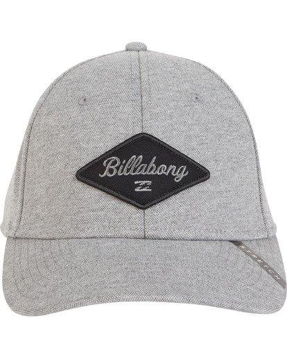 2 Walled Stretch Hat Grey MAHWVBWD Billabong