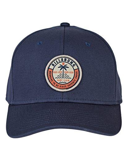 1 Walled Stretch Hat Blue MAHWVBWD Billabong