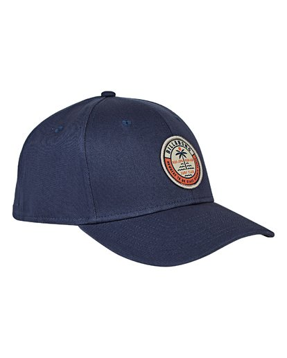2 Walled Stretch Hat Blue MAHWVBWD Billabong