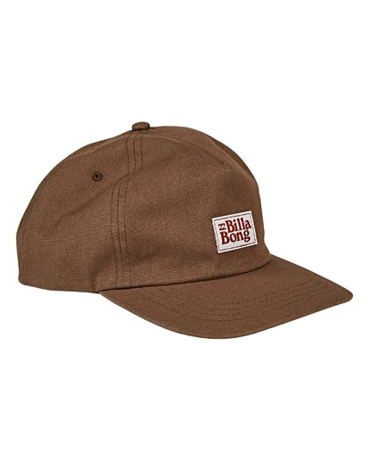 2 Wallride Snapback Brown MAHWVBWR Billabong