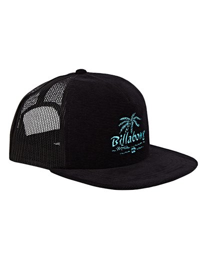 2 Alliance Trucker Hat Black MAHWWBAL Billabong