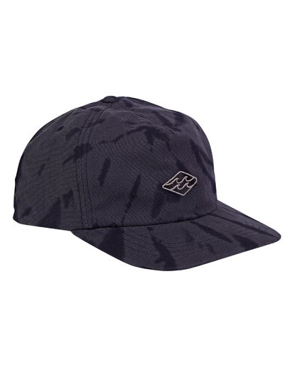2 Lock Down Snapback Hat Blue MAHWWBLO Billabong