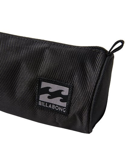 4 Barrel Pencil Case Grey MAMCVBBA Billabong