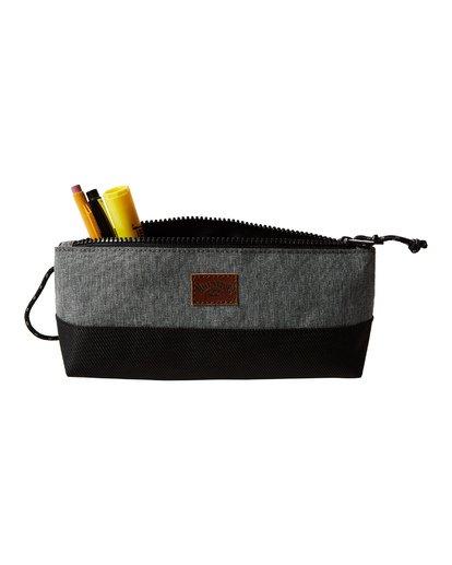 3 All Day Pencil Case Grey MAMCVBGR Billabong