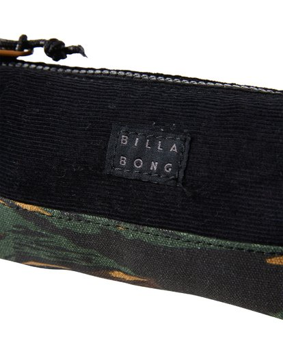 5 Low Tide Pencil Case Camo MAMCVBLT Billabong