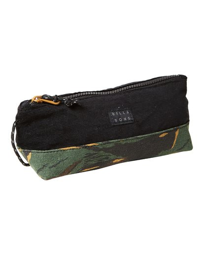 1 Low Tide Pencil Case Camo MAMCVBLT Billabong