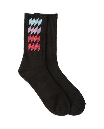 1 Dbah Patterned Socks Black MASO1BDB Billabong