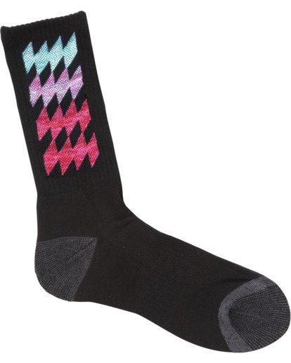 0 Dbah Patterned Socks Black MASO1BDB Billabong