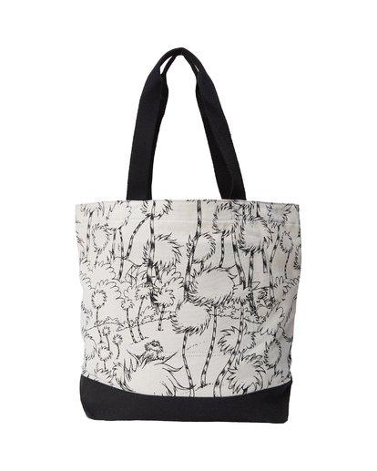 3 Truffula Tote Bag Black MATB2BTR Billabong