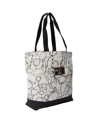 1 Truffula Tote Bag Black MATB2BTR Billabong