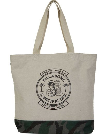 0 Graphic Tote White MATBTBGT Billabong