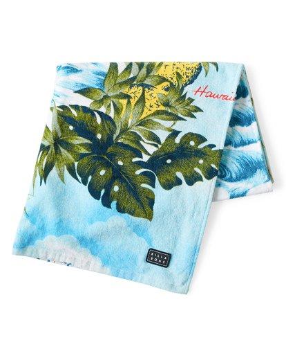 2 Hawaii Towel Blue MATWVBHT Billabong
