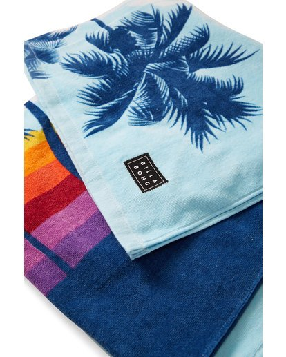 1 Shore Break Towel Blue MATWVBSR Billabong