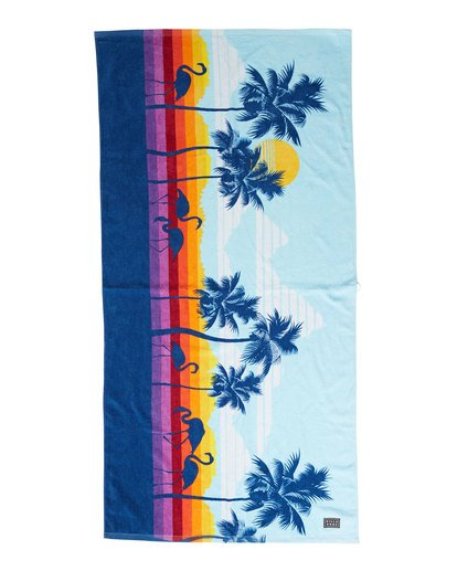 0 Shore Break Towel Blue MATWVBSR Billabong