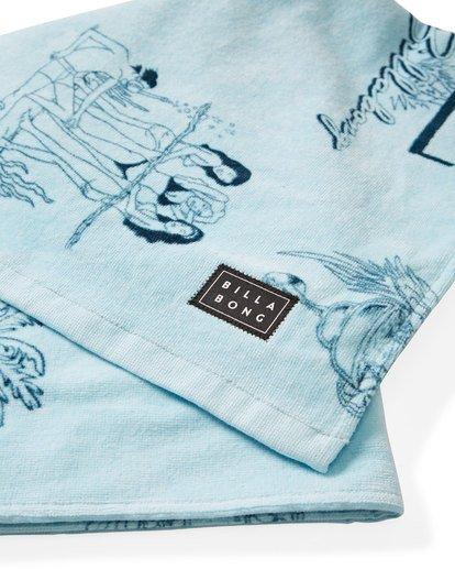 1 Shore Break Towel Blue MATWVBSR Billabong