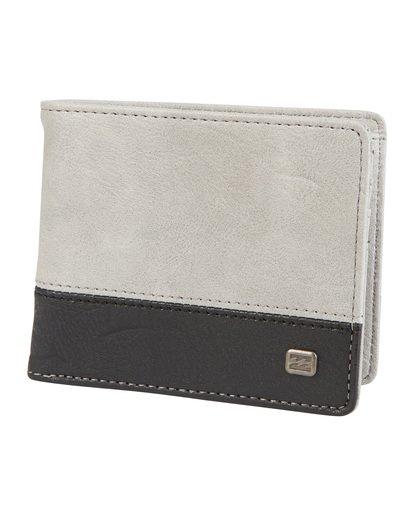 4 Dimension Wallet Grey MAWT1BDI Billabong