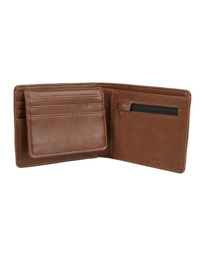 3 Dimension Wallet Green MAWT1BDI Billabong