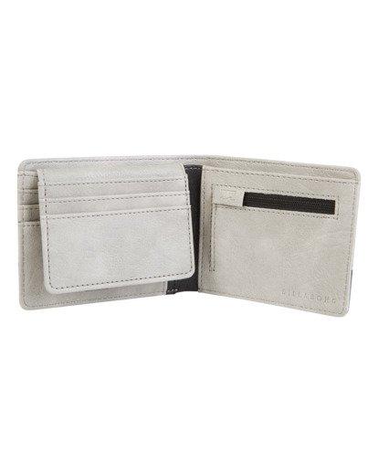 1 Dimension Wallet Grey MAWT1BDI Billabong