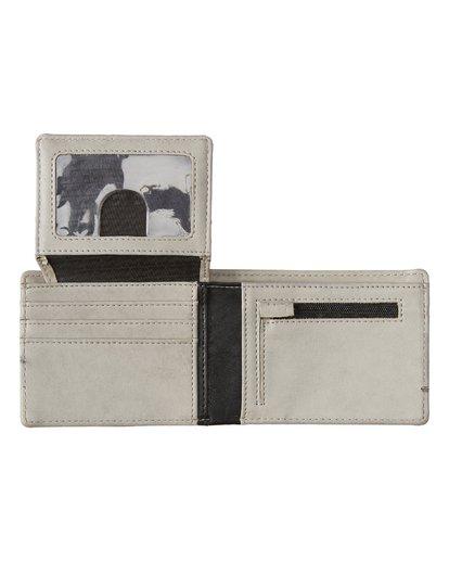 2 Dimension Wallet Grey MAWT1BDI Billabong