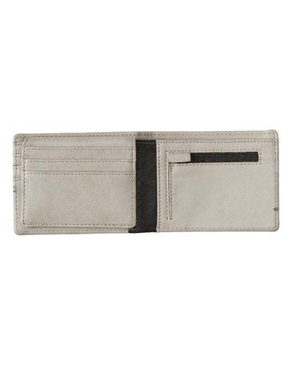 3 Dimension Wallet Grey MAWT1BDI Billabong