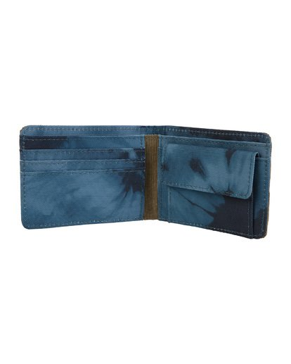 3 Tides Wallet Blue MAWT1BTI Billabong