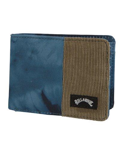 2 Tides Wallet Blue MAWT1BTI Billabong