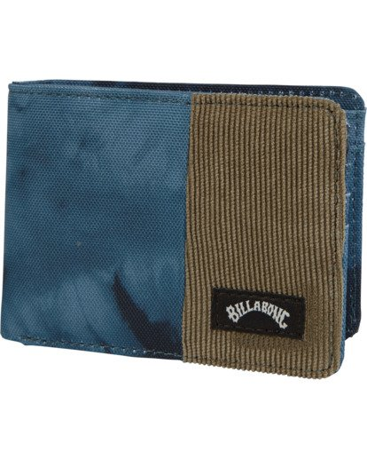 0 Tides Wallet Blue MAWT1BTI Billabong