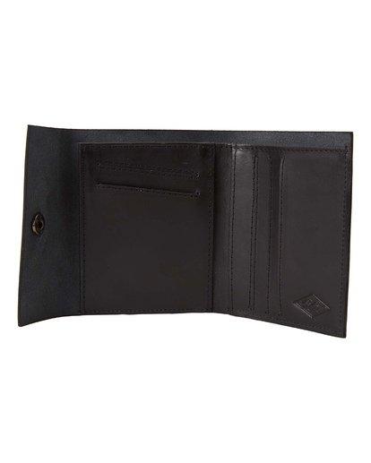 1 Tribong Leather Wallet Black MAWT3BTR Billabong
