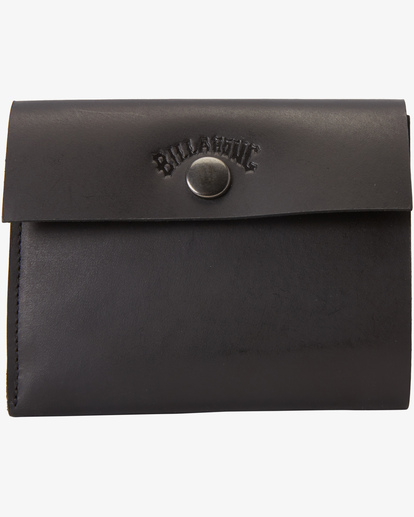 0 Tribong Leather Wallet Black MAWT3BTR Billabong