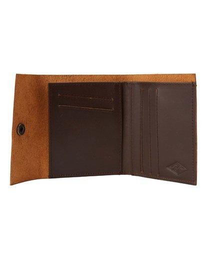 1 Tribong Leather Wallet Brown MAWT3BTR Billabong