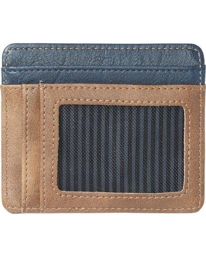 1 Dimension Card Holder Wallet Blue MAWTNBDC Billabong