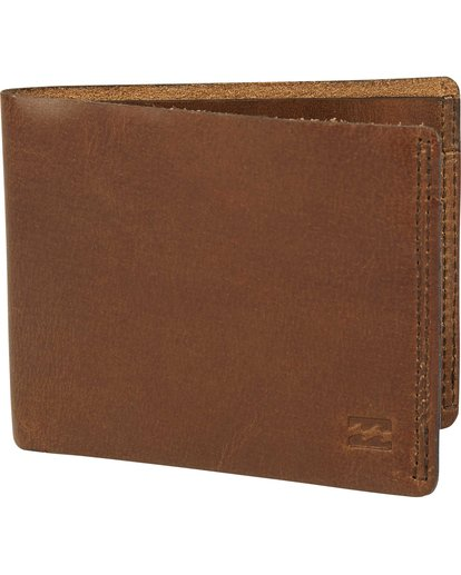 0 All Day Leather Wallet Brown MAWTQBAL Billabong