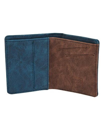 1 Gaviotas PU Wallet Blue MAWTTBGA Billabong