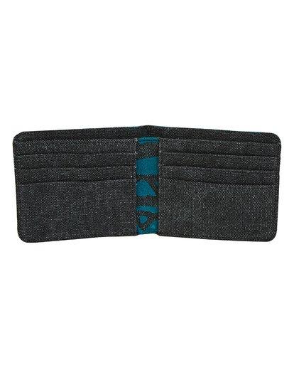 1 Tides Bi-fold Wallet Black MAWTTBTI Billabong