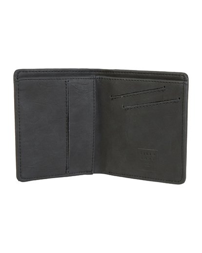 3 Gaviotas Pu Wallet Black MAWTVBGA Billabong