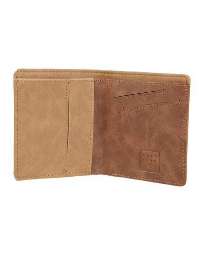 1 Gaviotas Pu Wallet Brown MAWTVBGA Billabong
