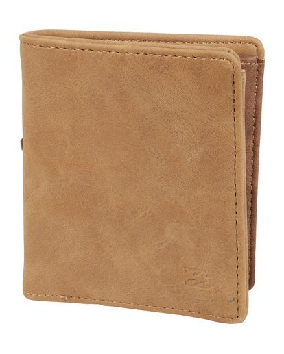 2 Gaviotas Pu Wallet Brown MAWTVBGA Billabong