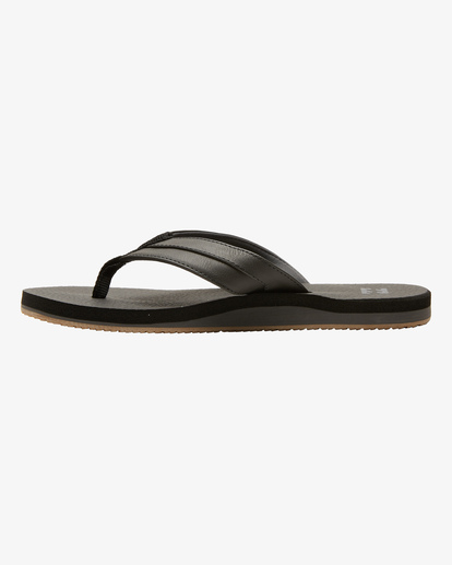 2 All Day Impact Cush Sandals Black MFOT1BAC Billabong