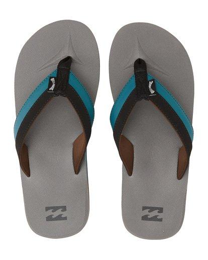3 All Day Impact Sandals Black MFOT1BAD Billabong
