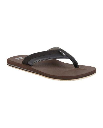 6 All Day Impact Sandals Brown MFOT1BAD Billabong