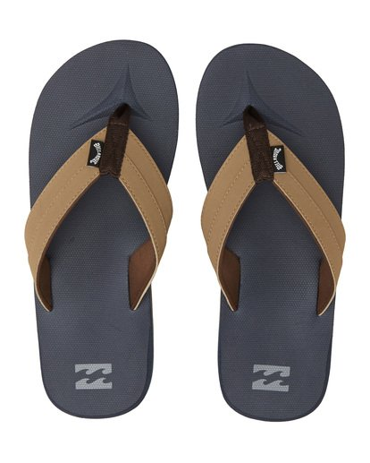 4 All Day Impact Sandals Blue MFOT1BAD Billabong
