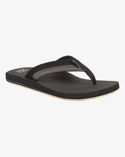 1 All Day Impact Sandals Black MFOT1BAD Billabong