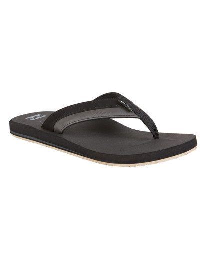 2 All Day Impact Sandals Black MFOT1BAD Billabong