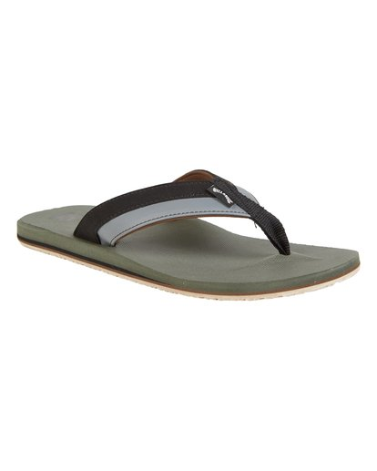 3 All Day Impact Sandals Brown MFOT1BAD Billabong